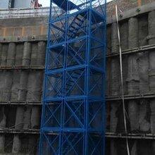 基坑施工梯笼建筑梯笼地铁梯笼厂家加工定制图片