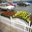 漳平pvc学校护栏清镇草坪护栏pvc塑钢护栏图片