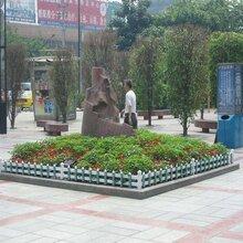 安徽淮北花壇木柵欄山東淄博庭園護欄圖片