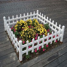 铸铁草坪护栏花坛环保围栏批发图片