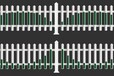 台湾高雄前镇哪里有做塑钢护栏的草坪护栏厂家