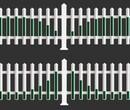安庆pvc围墙新密pvc护栏尺寸图片