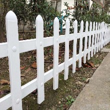 重庆铜梁县pvc塑钢道路护栏供货商图片