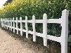 台湾台北大安变压器塑钢护栏价格绿色草坪护栏