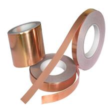 長安銅箔膠帶虎門銅箔鋁箔膠帶屏蔽膠帶模切沖型加工廠圖片