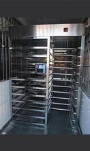 监狱全高闸厂家生产XSS-D90人脸识别系统十字转闸不锈钢通道闸机品质保证图片