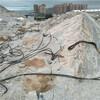 矿山开采柱塞式劈裂棒代替炮锤