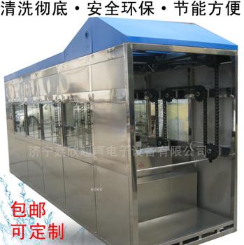 濟寧鑫欣全自動超聲波清洗機生產線自動化程度高全國聯保