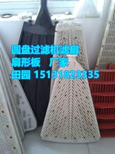 供應扇形板濾板濾扇圖片