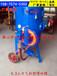 铝艺门花毛刺喷砂机厂家/金属铝艺大门氧化皮喷砂机/护栏除锈喷砂机