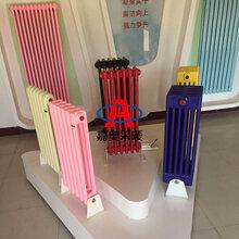 GZ208鋼制二柱暖氣片鋼制圓二柱型散熱器加工訂做