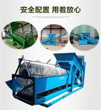 滚筒筛沙机一体式全自动筛沙机机械生产图片