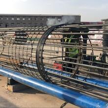廣西橋梁鋼筋籠繞籠機圖片