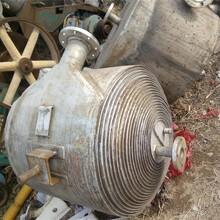 大量回收二手螺旋板換熱器圖片