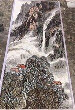 山水畫馬賽克貼圖廠家直銷多種馬賽克尺寸圖片