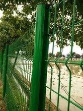 桃型柱护栏网比普通的护栏网更立体/美观/结实,金栏大量现货图片
