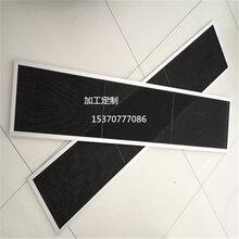 可加邊框尼龍網過濾白色黑色防塵空氣空調中央網罩過濾片電腦機箱防塵尼龍網圖片