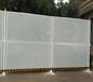 定制珠海施工项目围栏冲孔板护栏价格绿色镀锌围挡佛山市政隔离冲孔防护栏