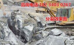 修路路基开裂快速破拆设备大型矿山开采岩石劈裂机图片1