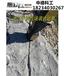 礦山破石機械巖石靜態爆破劈裂機每天多少立方石材