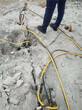 砂石场代替炸药用什么电动分裂机械图片