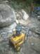 矿井城市挖石头地基用劈裂机