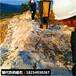 露天矿山采石坚固石头破裂设备裂岩机莆田市