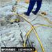 建筑房屋挖地基劈石機采礦效率
