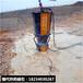 石头硬度大液压裂石机免费咨询破石方案