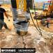 大型礦山石材破石機機械塞式劈裂機械