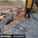 风镐打不动拆除硬石头怎么开挖硬石头撑石头机器