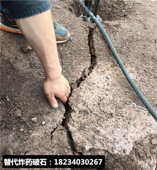 代替炮機鑿石頭怎么破石頭速度快開采巖石設備