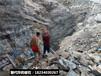 地基挖溝渠石頭快速破除裂石機