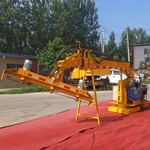 重慶紫穗槐修剪設備全自動液壓綠籬機,全自動割草機