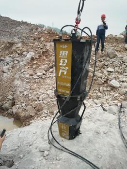 开山分石机,打孔凿岩设备岩石劈裂机