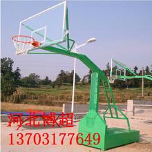 手动升降篮球架生产厂家图片