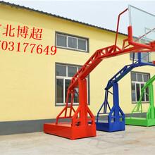 燕尾式篮球架生产厂家图片