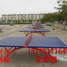 社区休闲乒乓球台生产厂家图片