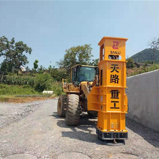 夯實機-通化二道江區液壓夯實機舊路改造拓寬