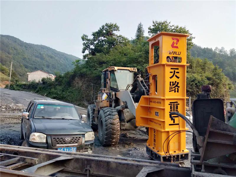 液壓夯-晉中和順舊路加寬液壓夯堤壩壓實