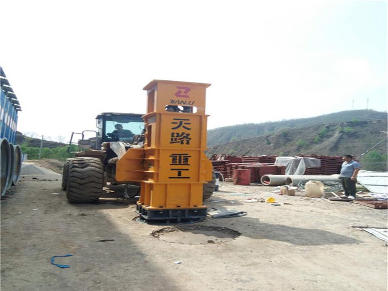 軟地基夯實機-吉林農安天路液壓夯實機三背回填夯實