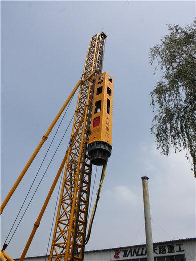 天路重工錘式打樁機,金華環保打樁錘多少錢