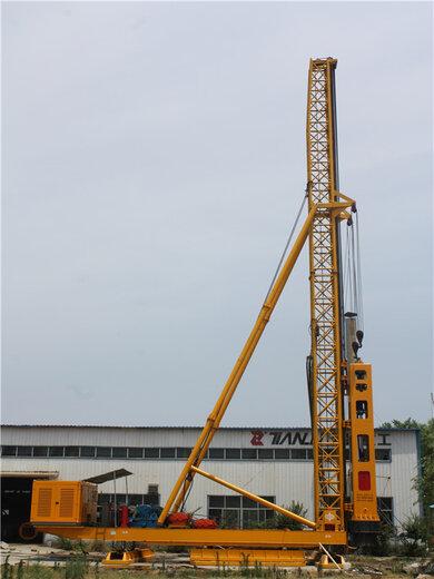 天路重工液壓打樁機,成都環保打樁錘工作原理