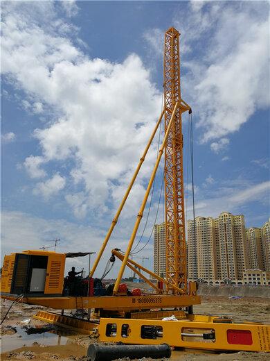 天路重工步履式打樁錘,威海環保打樁錘技術指導
