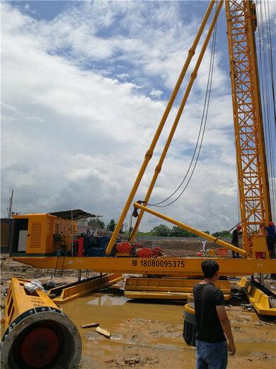 天路重工錘式打樁機,鄭州步履式打樁錘生產廠家