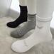 廠家新款襪子批發男女抗菌襪子高筒純棉襪子外貿
