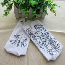 跨境外貿產品批發穴位二指襪純棉二指穴位襪價格圖片