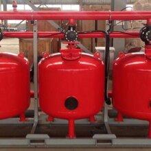 国海滤器全自动浅层砂过滤器厂家直销污水处理设备图片