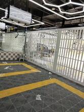 重庆按装PVC折叠门铝合金折叠推拉门商铺推拉门图片