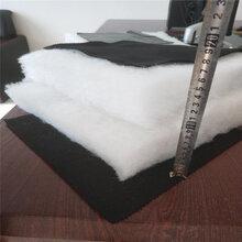 农业大棚覆膜毡无胶棉棉被黑无纺布丝绵保温被生产厂家